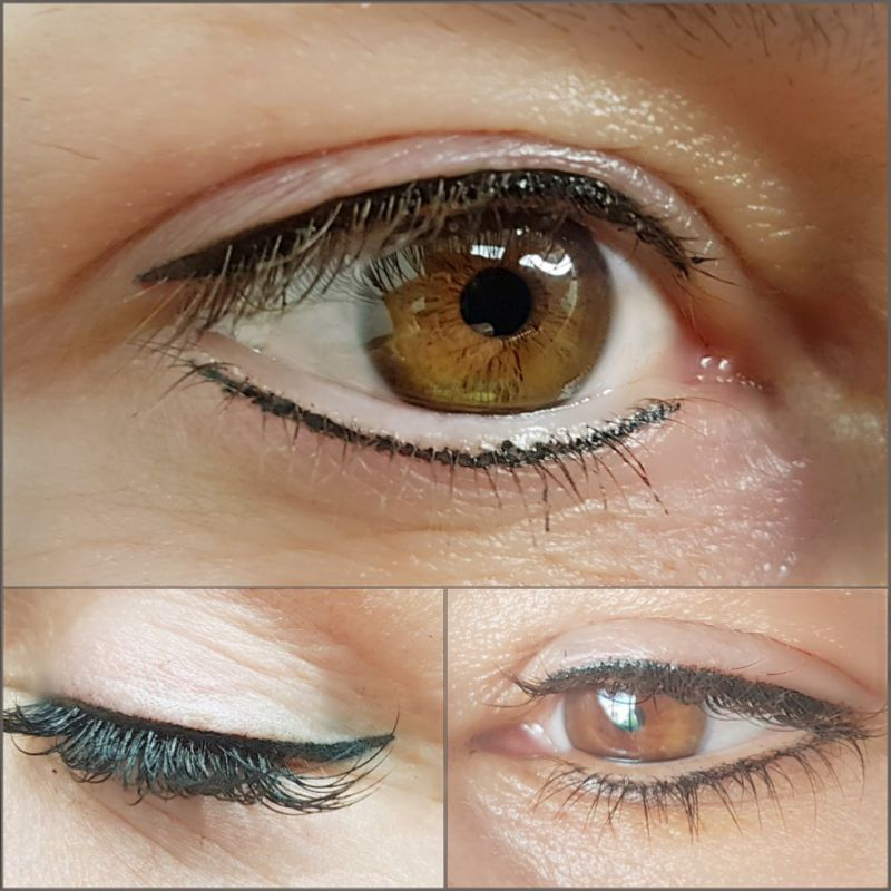 Eyeliner mit Permanent Make-Up