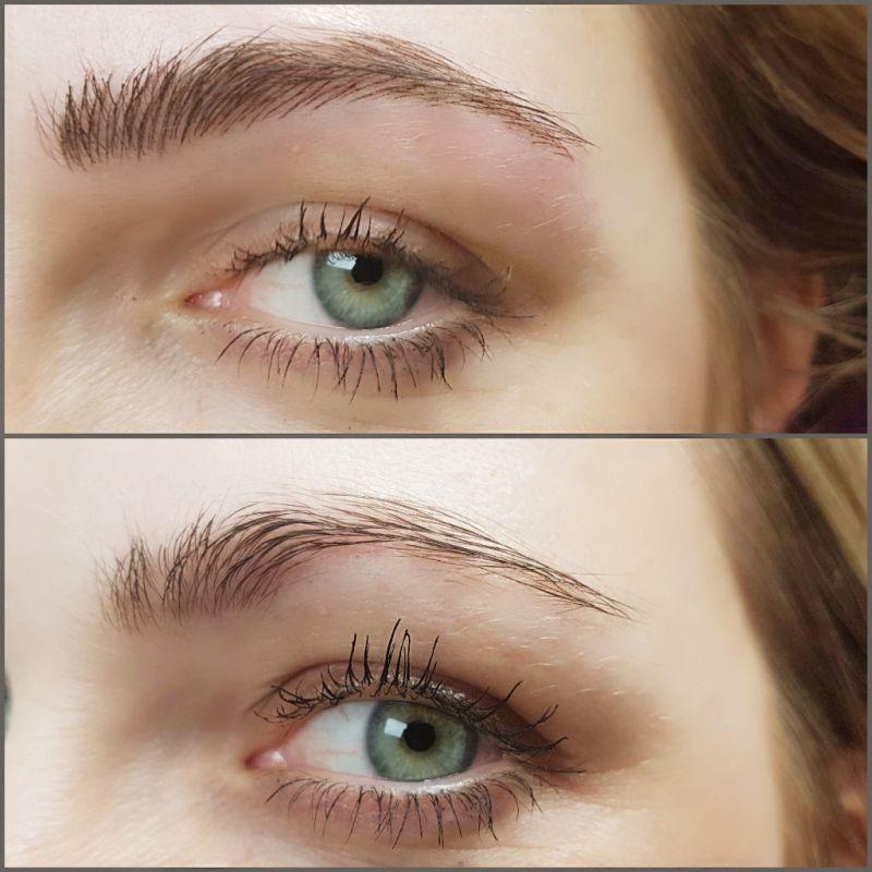 Microblading für Augenbrauen